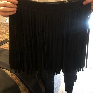 BB Dakota Skirts - BB Dakota fringe skirt. Size 6